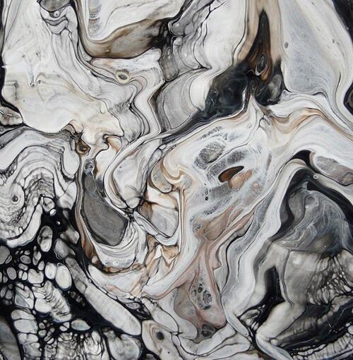 black grey wallpaper white   image 4391733 by Sharleen on Favim 500x510
