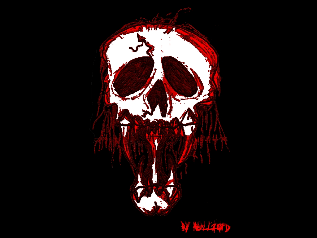 Evil Bloody Skull Wallpapers Pictures Photos and Backgrounds 1024x768