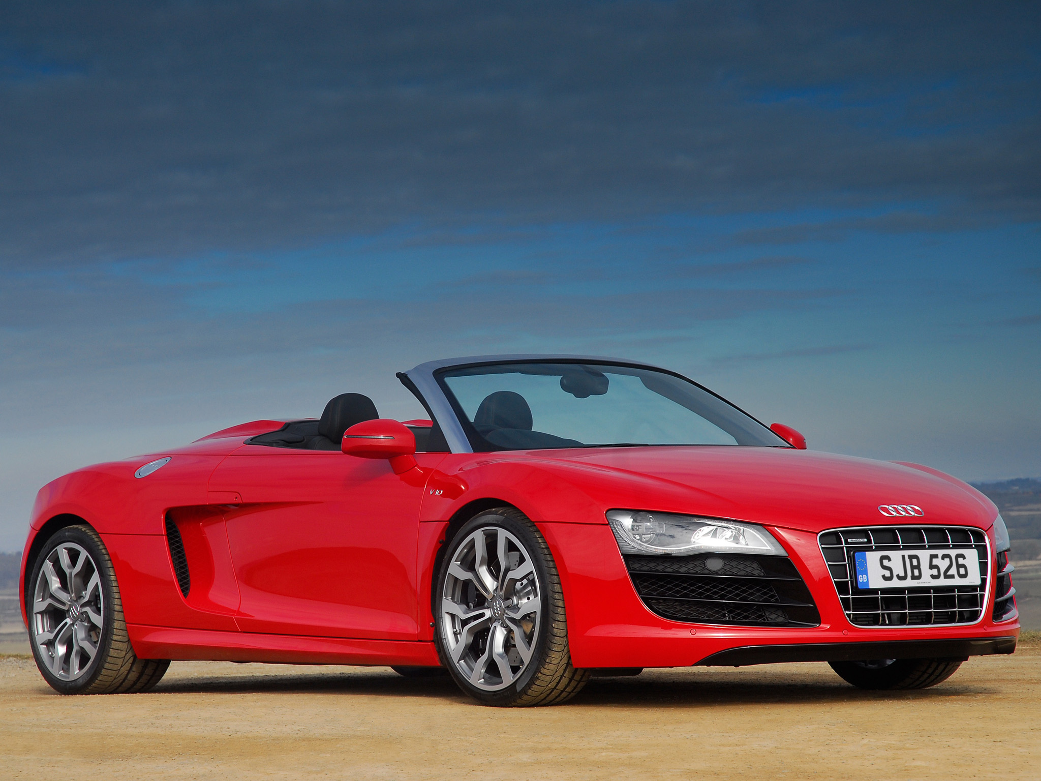 Audi R8 V10 Spyder UK spec Wallpapers Cool Cars Wallpaper 2048x1536