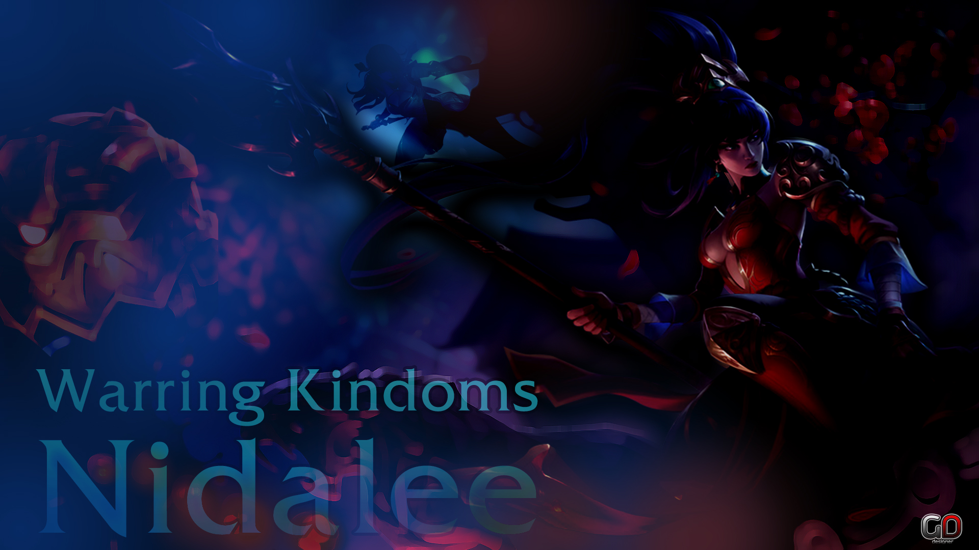 Warring Kingdoms Nidalee 1920 X 1080 Wallpaper by MiguelGremory on 1920x1080