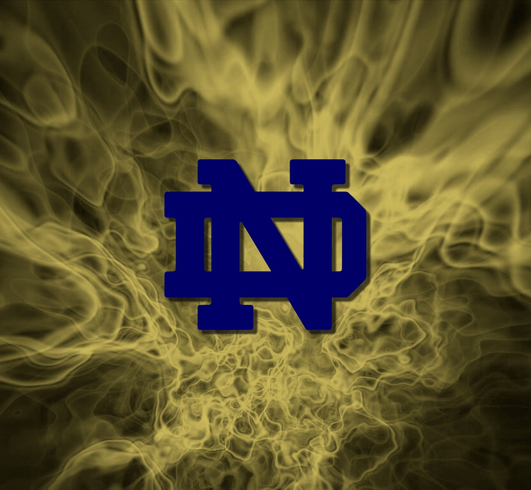 48 notre dame wallpaper for iphone on wallpapersafari - Notre dame football wallpaper ...