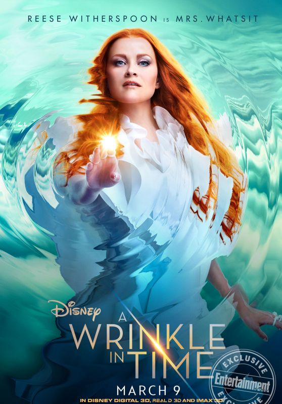 Reese Witherspoon   A Wrinkle in Time Poster 558x800