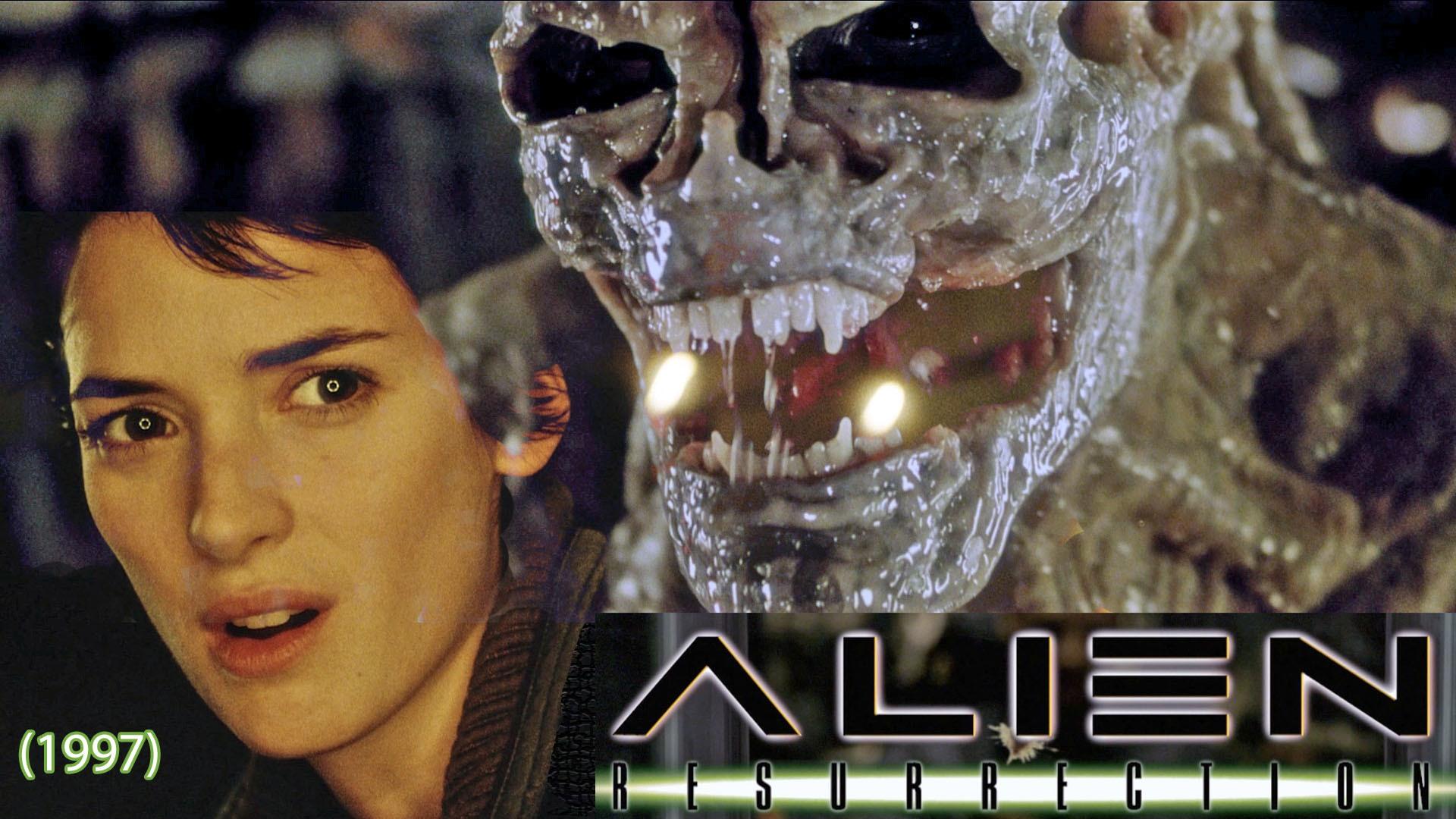 Alien Resurrection 1997 desktop wallpaper 1920x1080