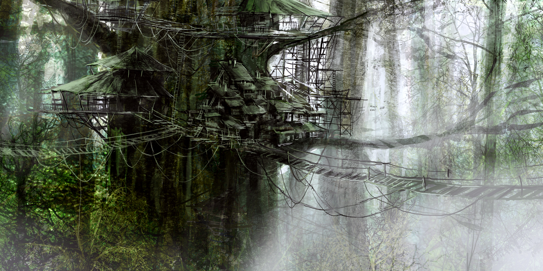 Tree house wallpapers for desktop wallpapersafari for Tree wallpaper for home