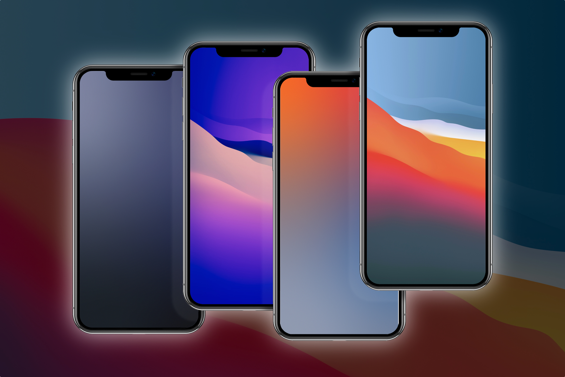 Download these modified iOS 14 and Big Sur wallpapers 1920x1280