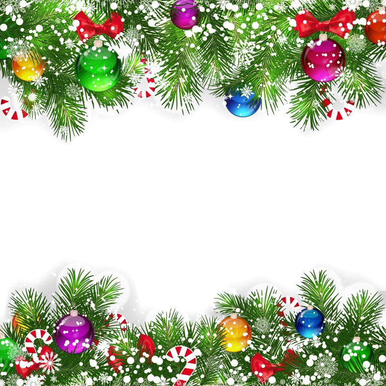 62 Christmas Clip Art Backgrounds ClipartLook 768x768