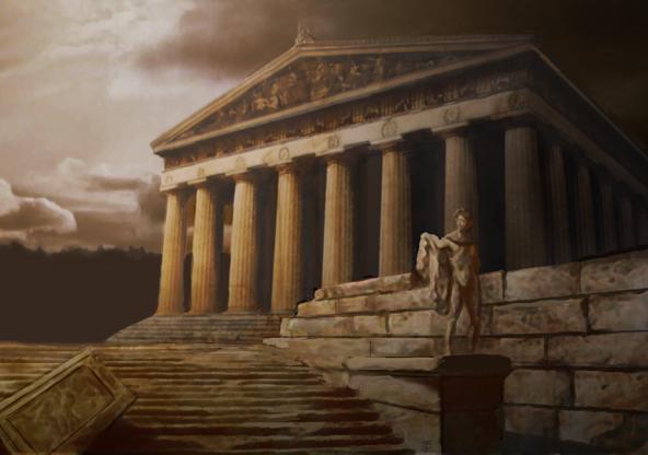 ancient greece wallpaper