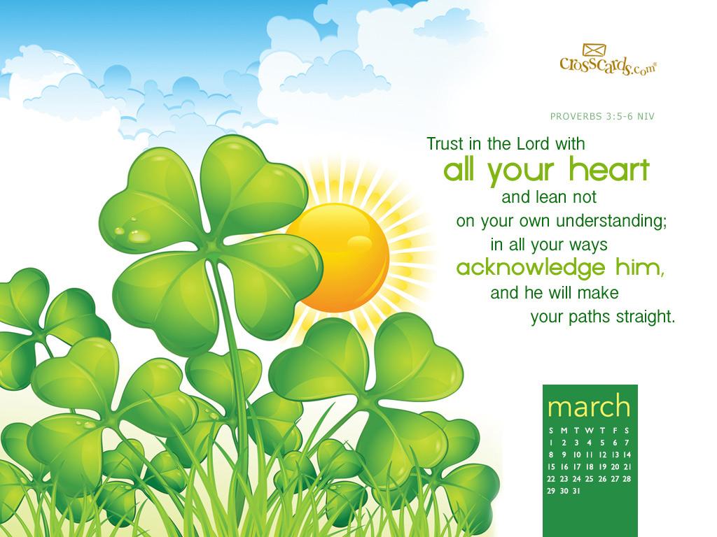 March 2015   Proverbs 35 6 Desktop Calendar  Monthly Calendars 1024x768