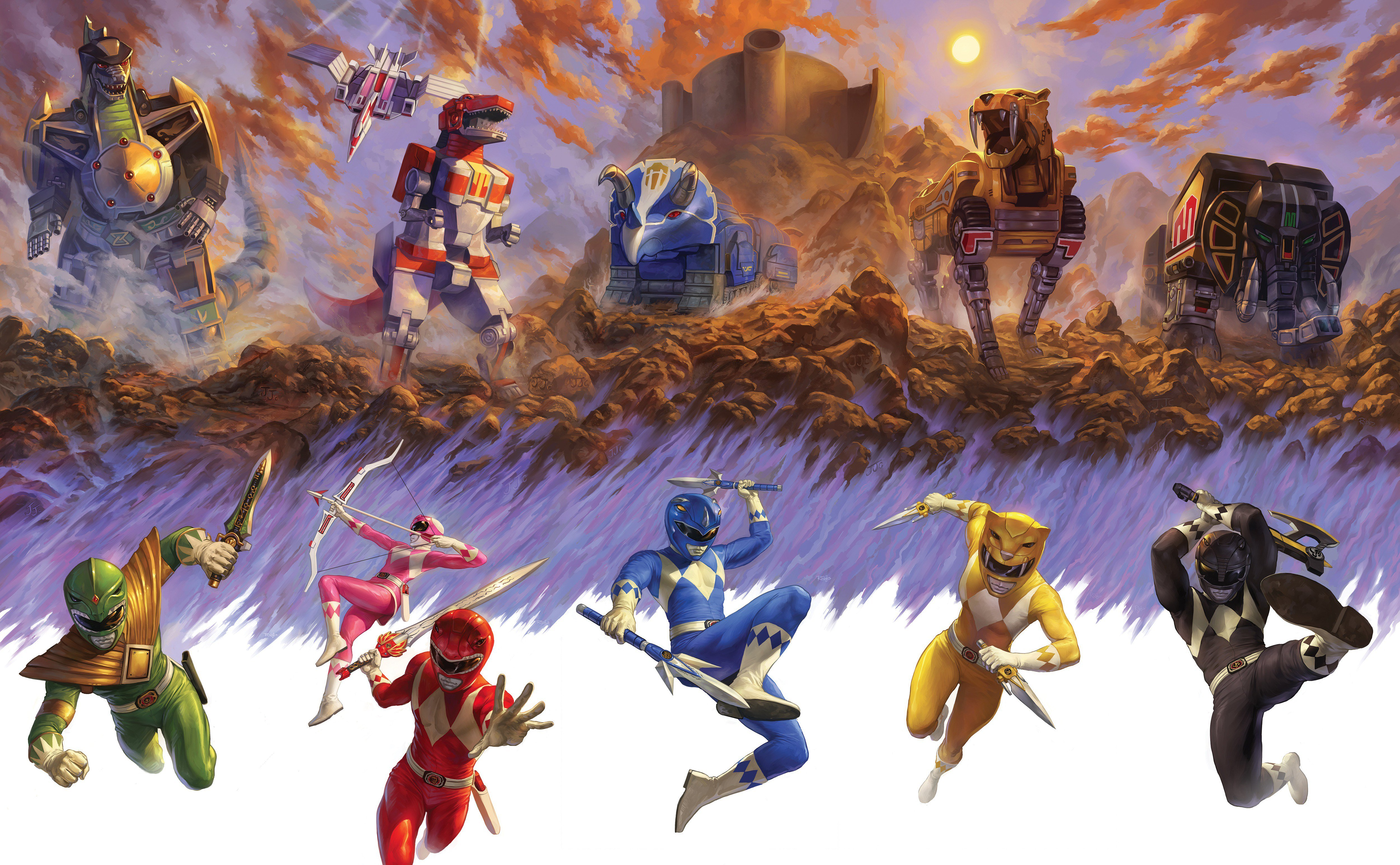 Morphin 4K wallpapers for your desktop or mobile screen and 5006x3094