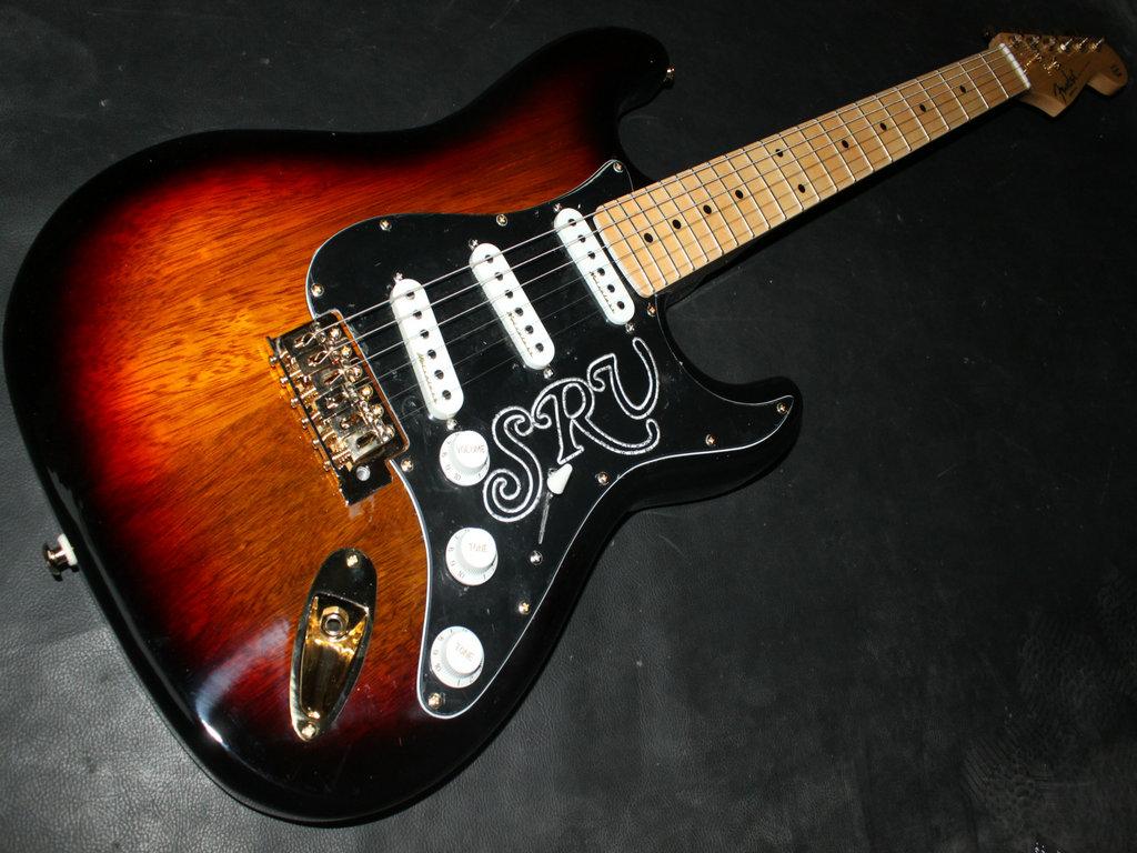 Stevie Ray Vaughan Stratocaster Burst SRV Guitar Solid 1024x768