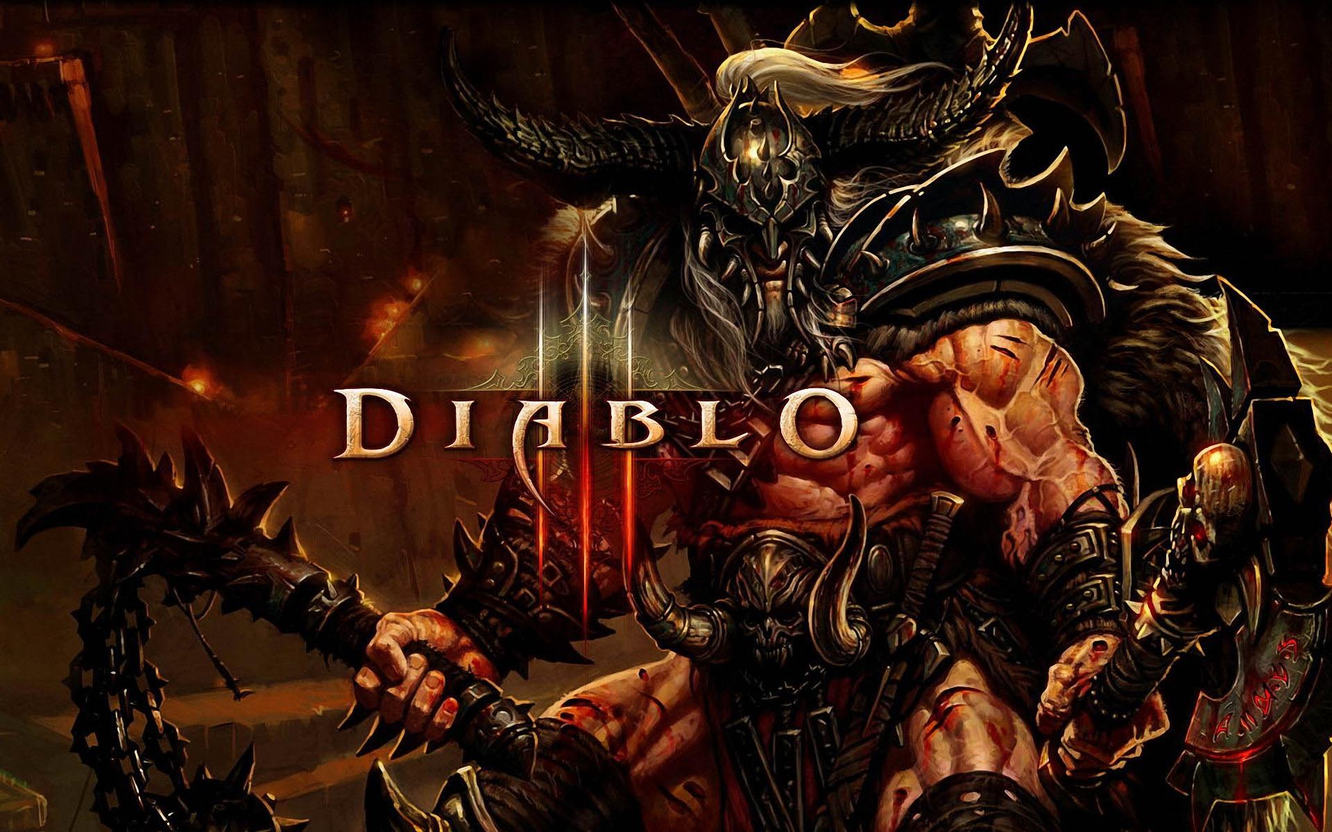 Diablo 3 Barbarian wallpaper   673490 1920x1200