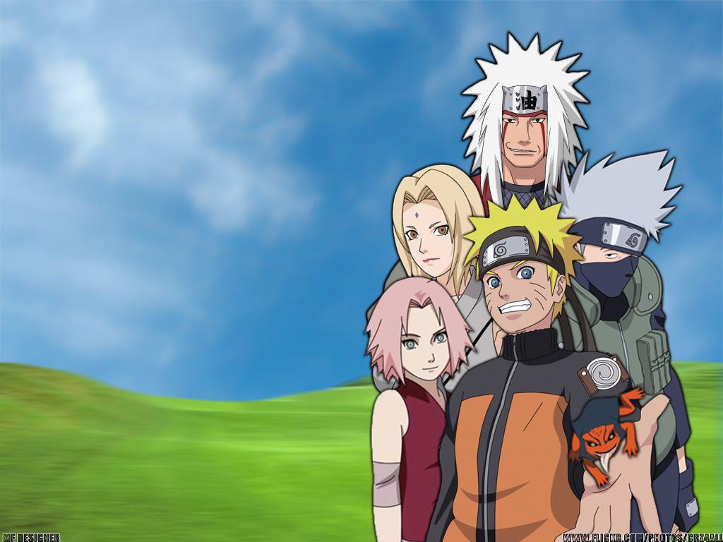 Naruto Tsunade Wallpaper Naruto group wallpapers 1024x768