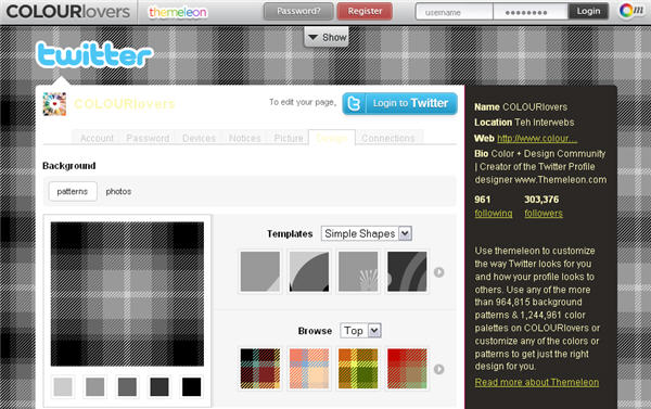 Backgrounds That Say Your Name Create a twitter background 600x377