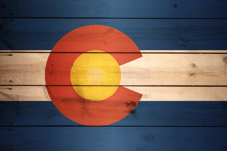 Colorado Flag Desktop Wallpaper - WallpaperSafari  Colorado Flag D...