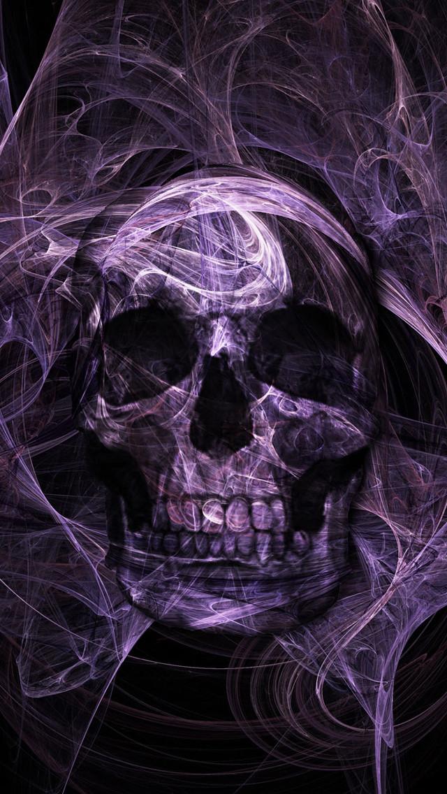 50 free purple skull mobile wallpapers on wallpapersafari - Skull wallpaper iphone 6 ...