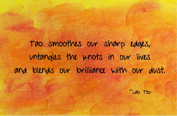 Tao Blends Our Brilliance with Our Dust Tao Te Ching Daily 584x383