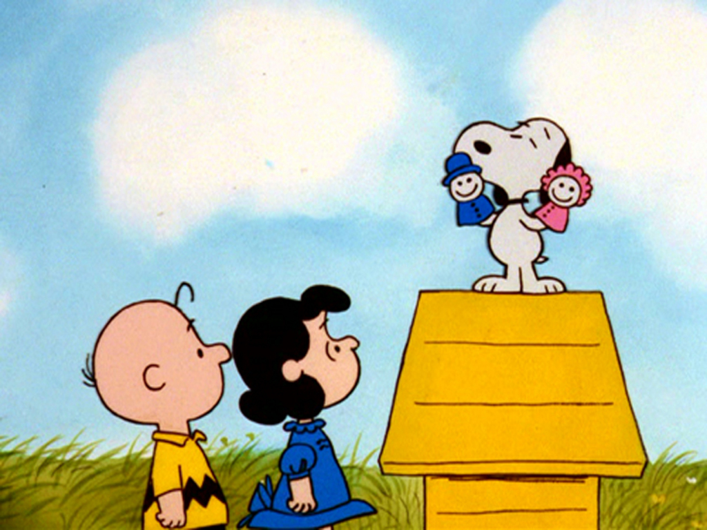 Charlie Brown And Snoopy Wallpaper 1024x768