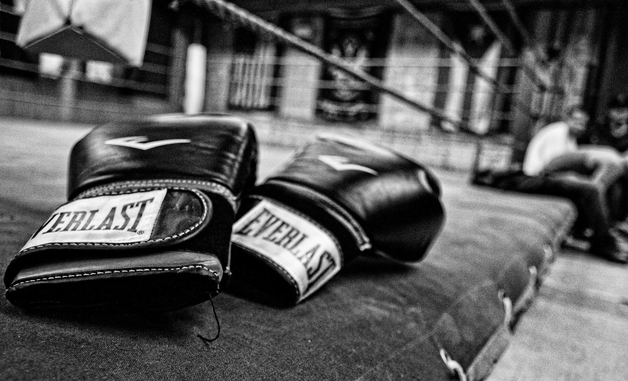 Boxing training wallpaper