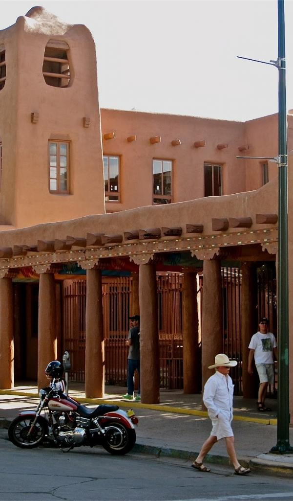 New mexico plaza santa fe wallpaper 28337 600x1024