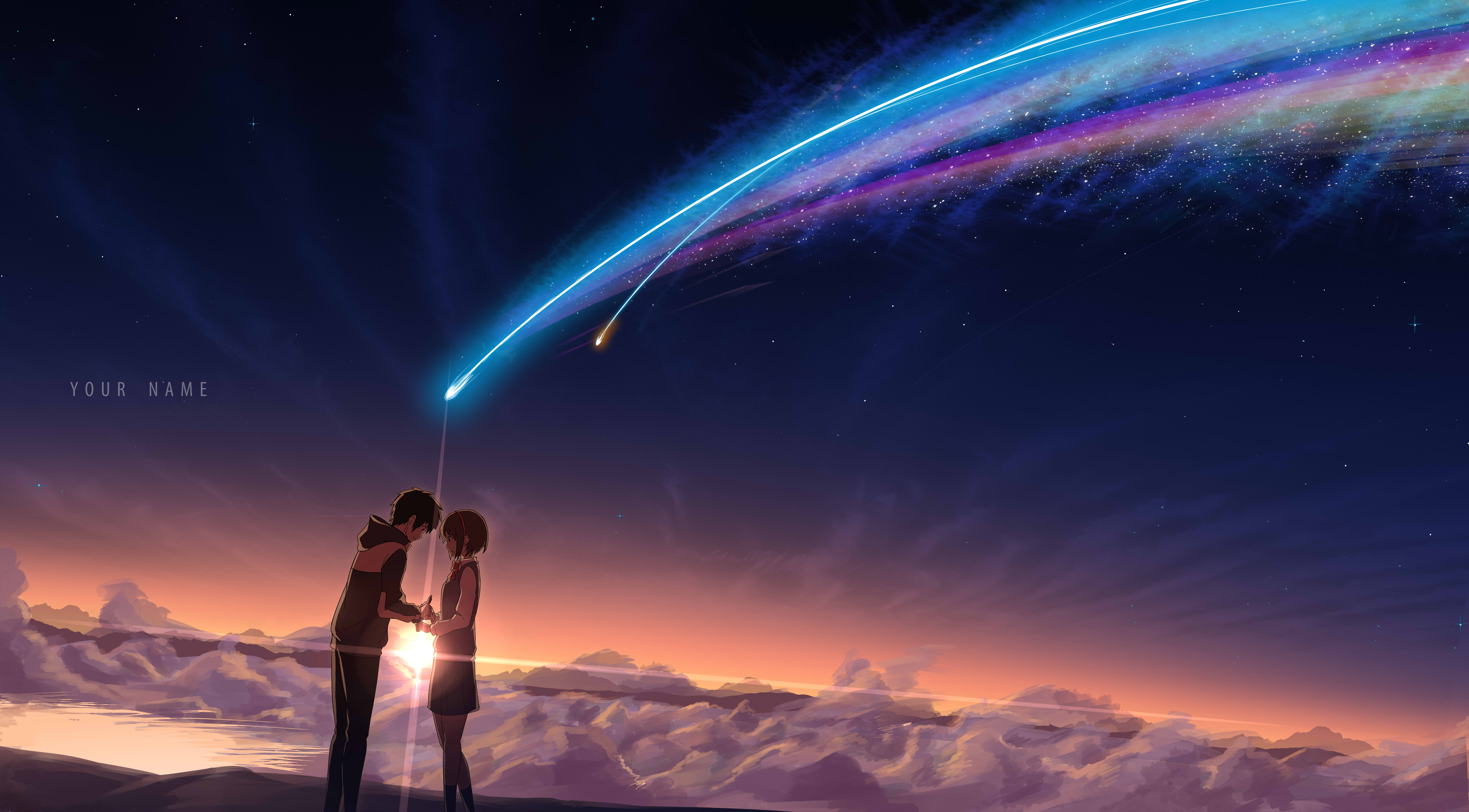 1375 Your Name HD Wallpapers Background Images 7015x3879