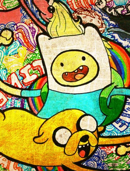 Adventure Time Wallpaper for Amazon Kindle Fire HD 89 450x590