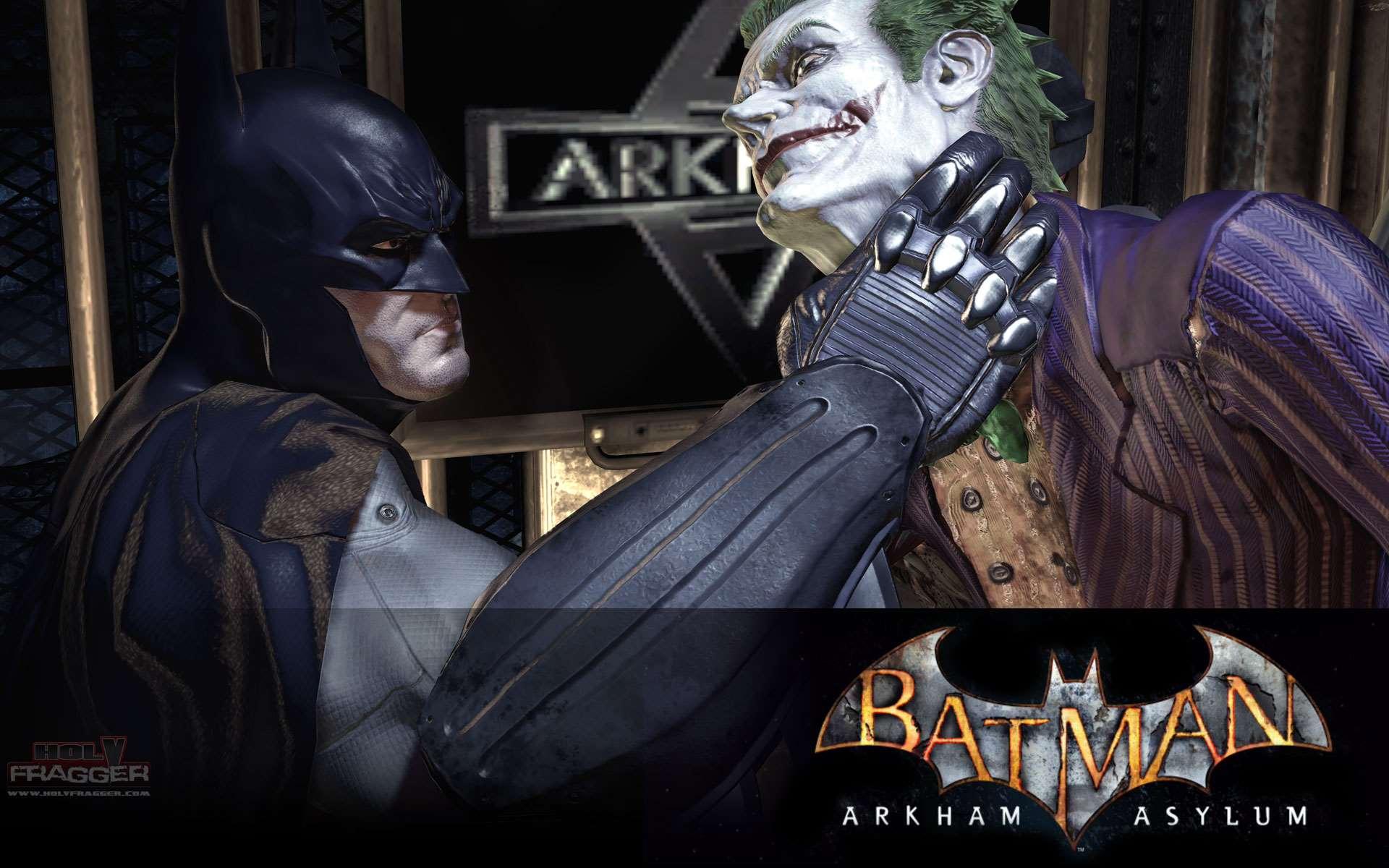 Joker Batman Arkham Asylum wallpaper 59988 1920x1200
