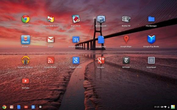 Google Chromebook Wallpaper 580x361