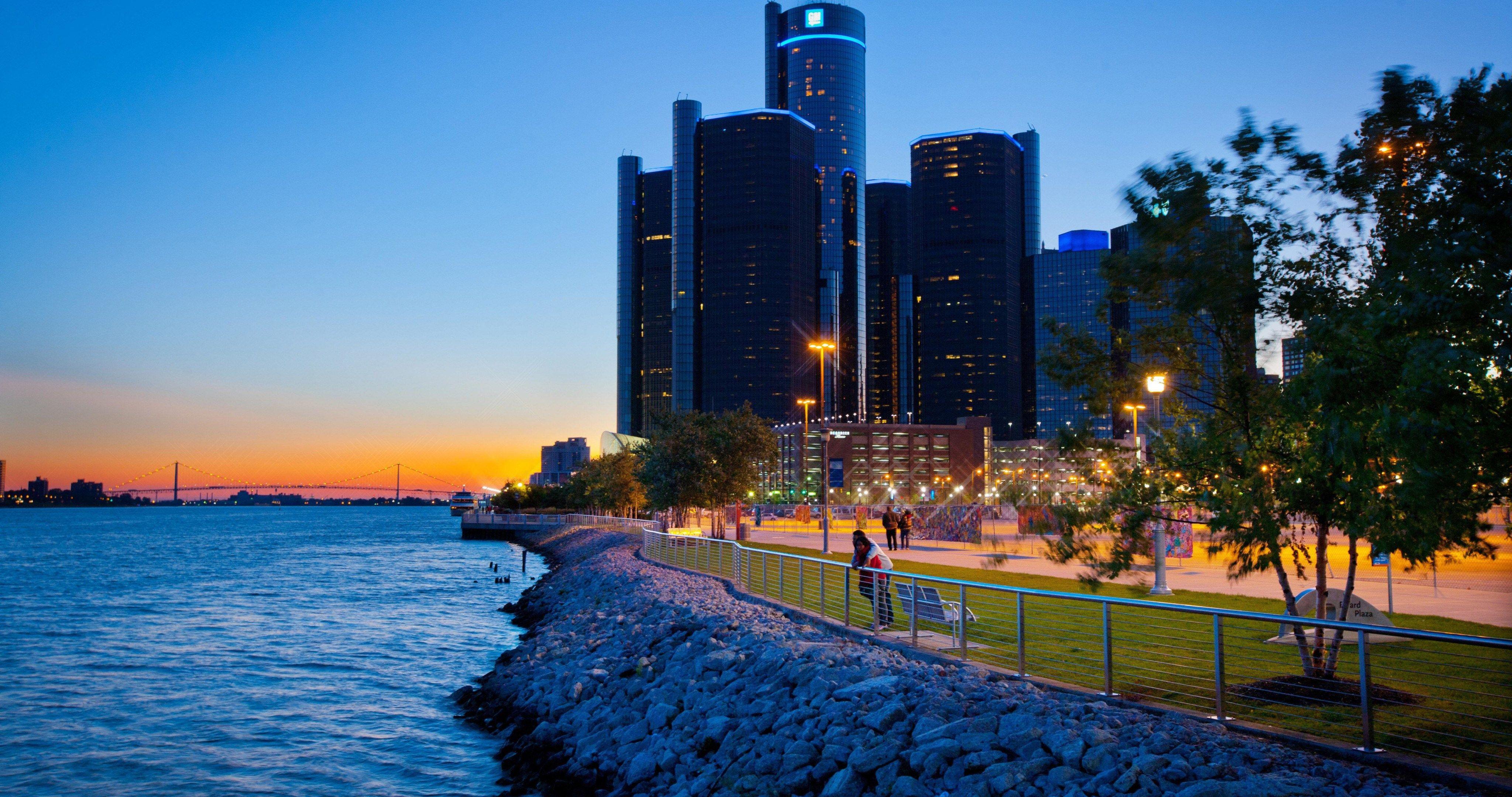 usa michigan detroit 4k ultra hd wallpaper ololoshenka Detroit 4096x2160