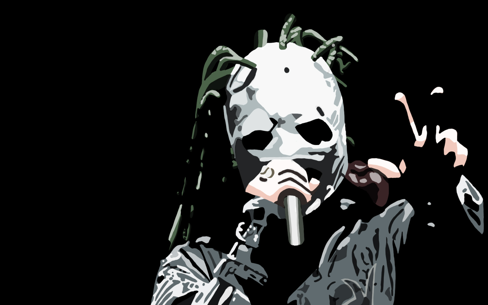 Corey Taylor   Iowa by Wingummi 1680x1050
