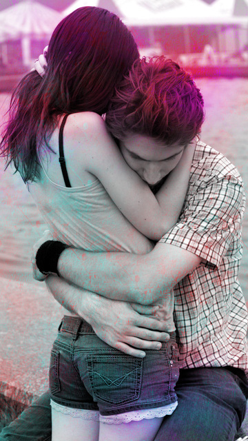 Download Cute hug   Love wallpapers Mobile Version 360x640