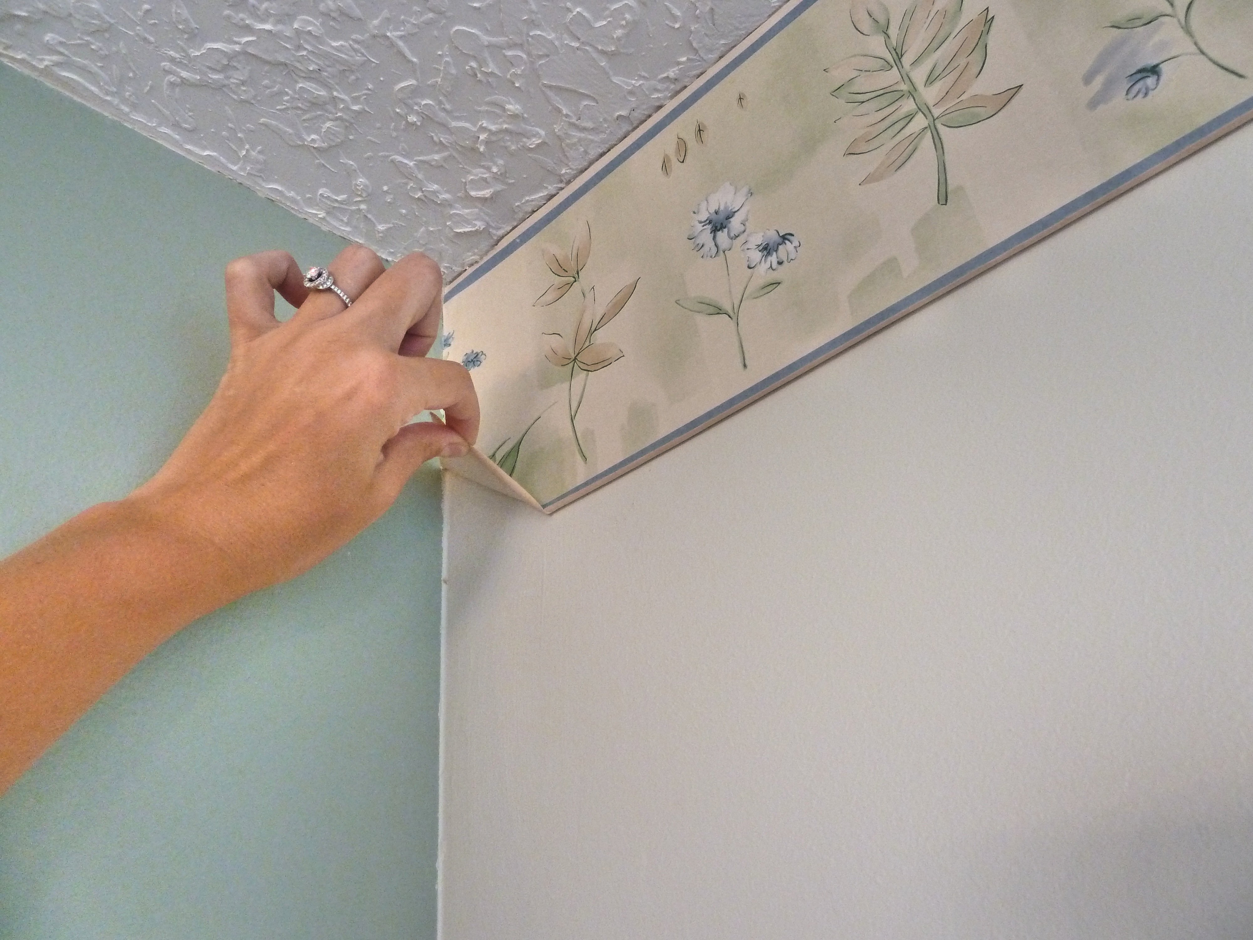 Removing Wallpaper With Fabric Softener Offers Useful Innovation For 4000x3000