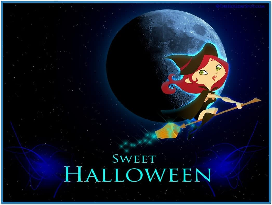 download screensaversbizcute halloween wallpaper screensavershtml 1047x791