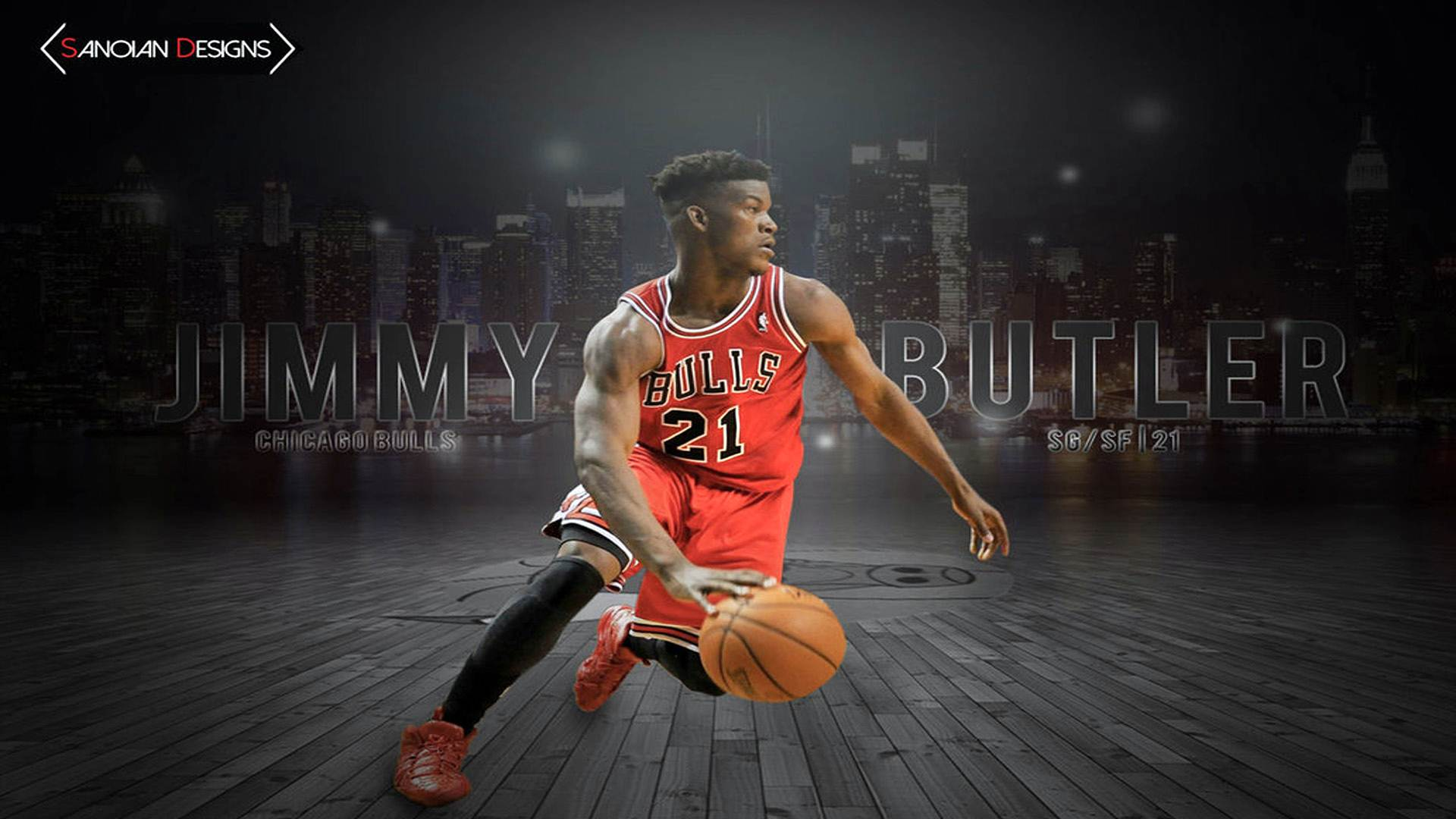 Jimmy Butler Bulls Wallpaper HDs 2644   Amazing Wallpaperz 1920x1080