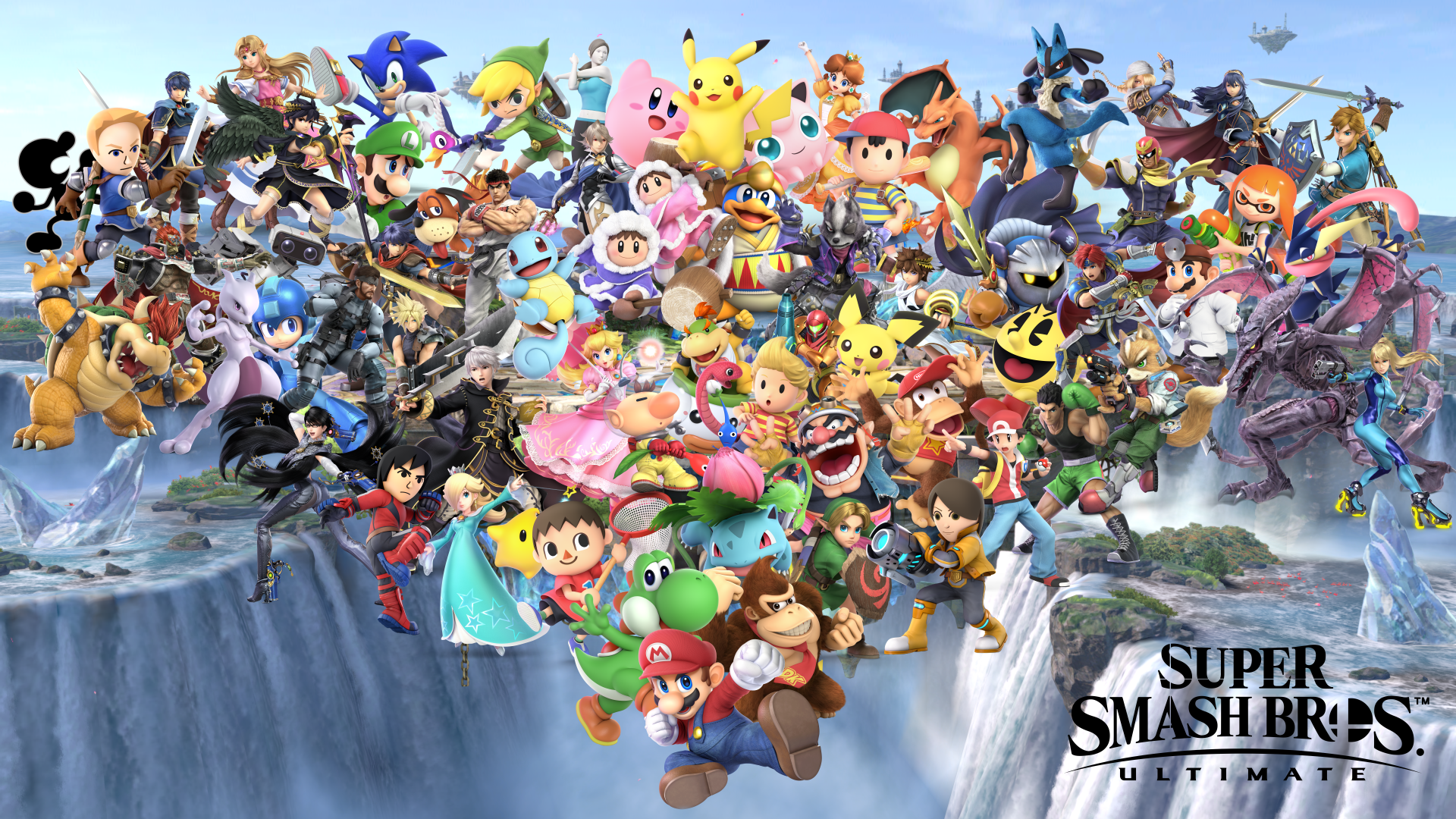 22 Super Smash Bros Ultimate Hd Wallpapers On Wallpapersafari