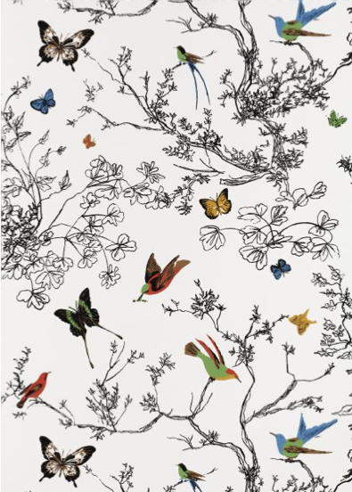 Daily Design Delight Bring Spring Inside with These 5 Wallpaper 395x552
