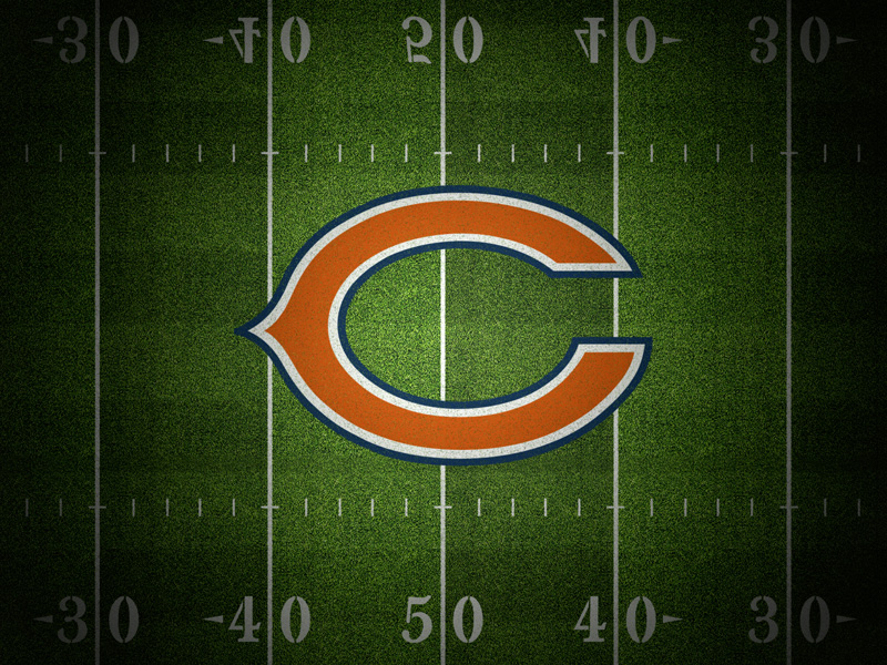 Chicago Bears Gridiron Wallpaper