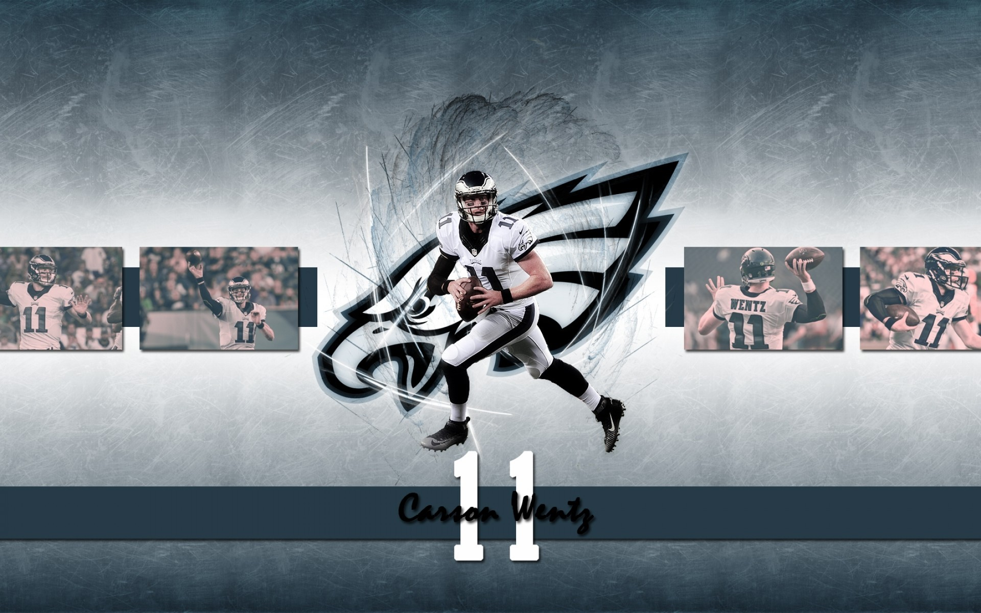 Download 1920x1200 Carson Wentz American Football Wallpapers for 1920x1200
