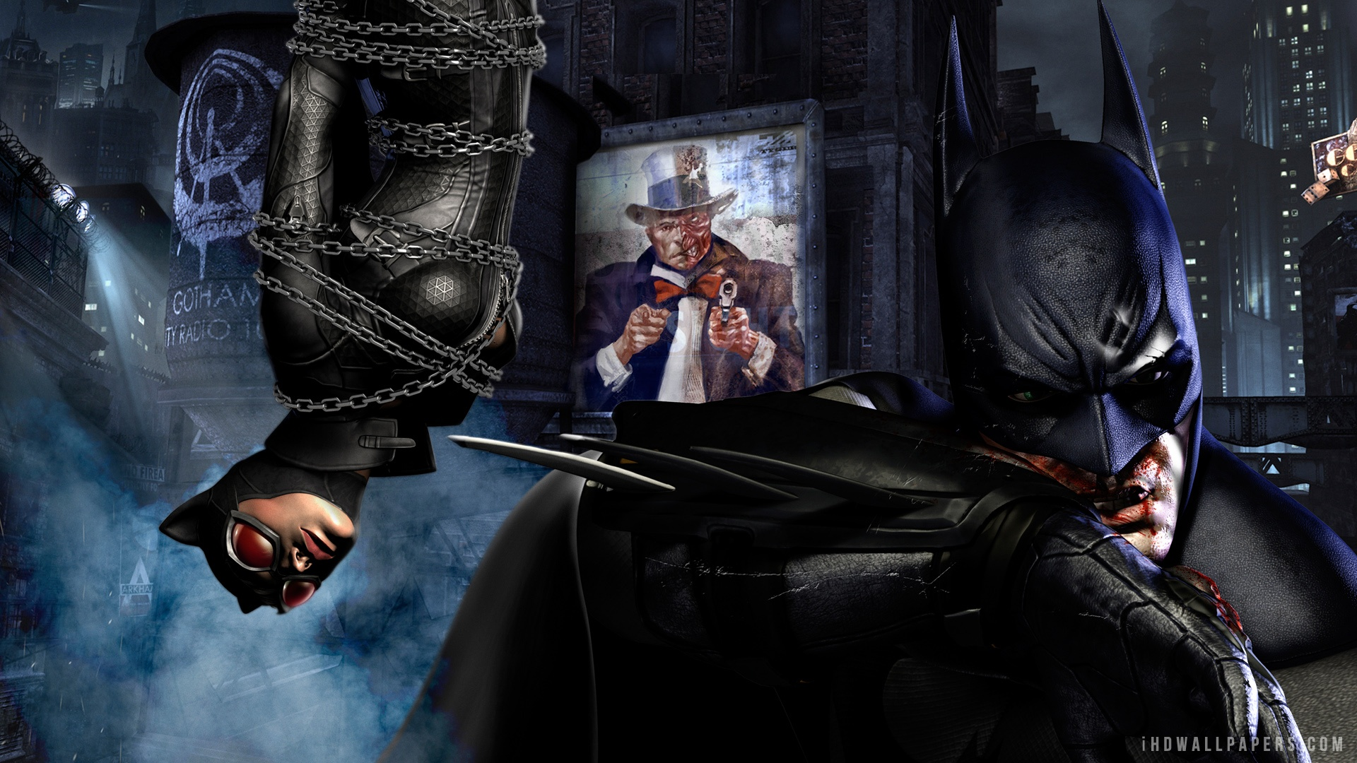 Batman And Catwoman Wallpaper Wallpapersafari