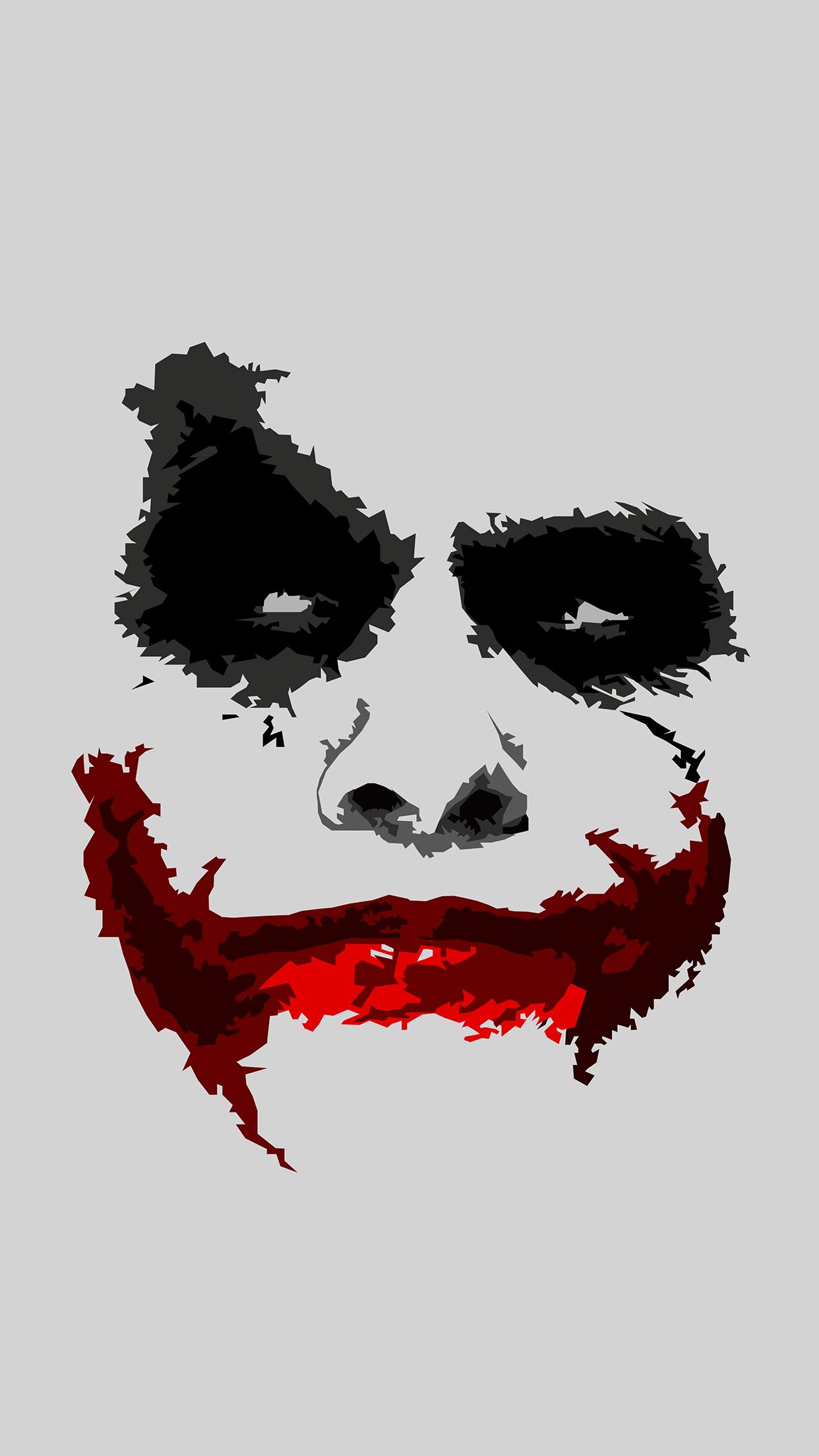 Wallpaper HD iPhone X 8 7 6   Joker Face   Download 1242x2208