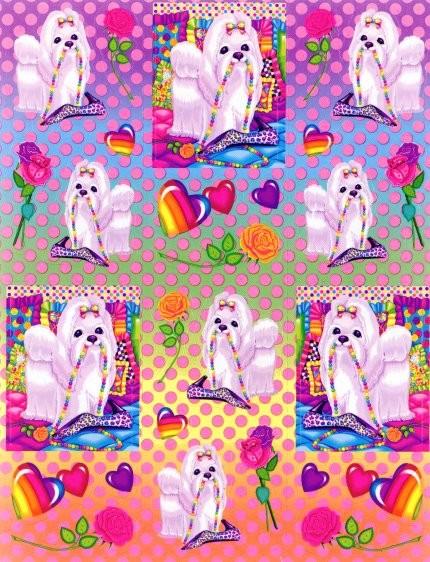 Lisa Frank Background 430x562