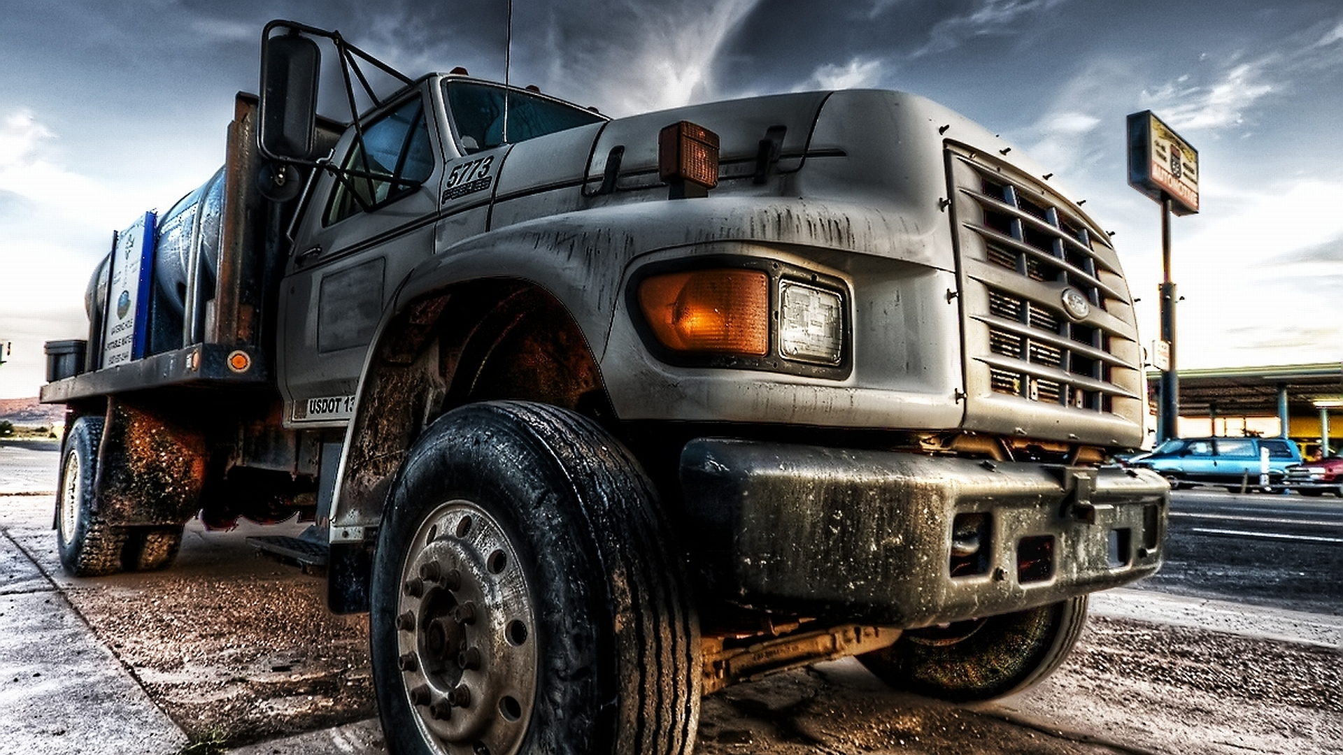 Truck Is Big Cars Wallpaper Background Wallpaper with 1920x1080 1920x1080