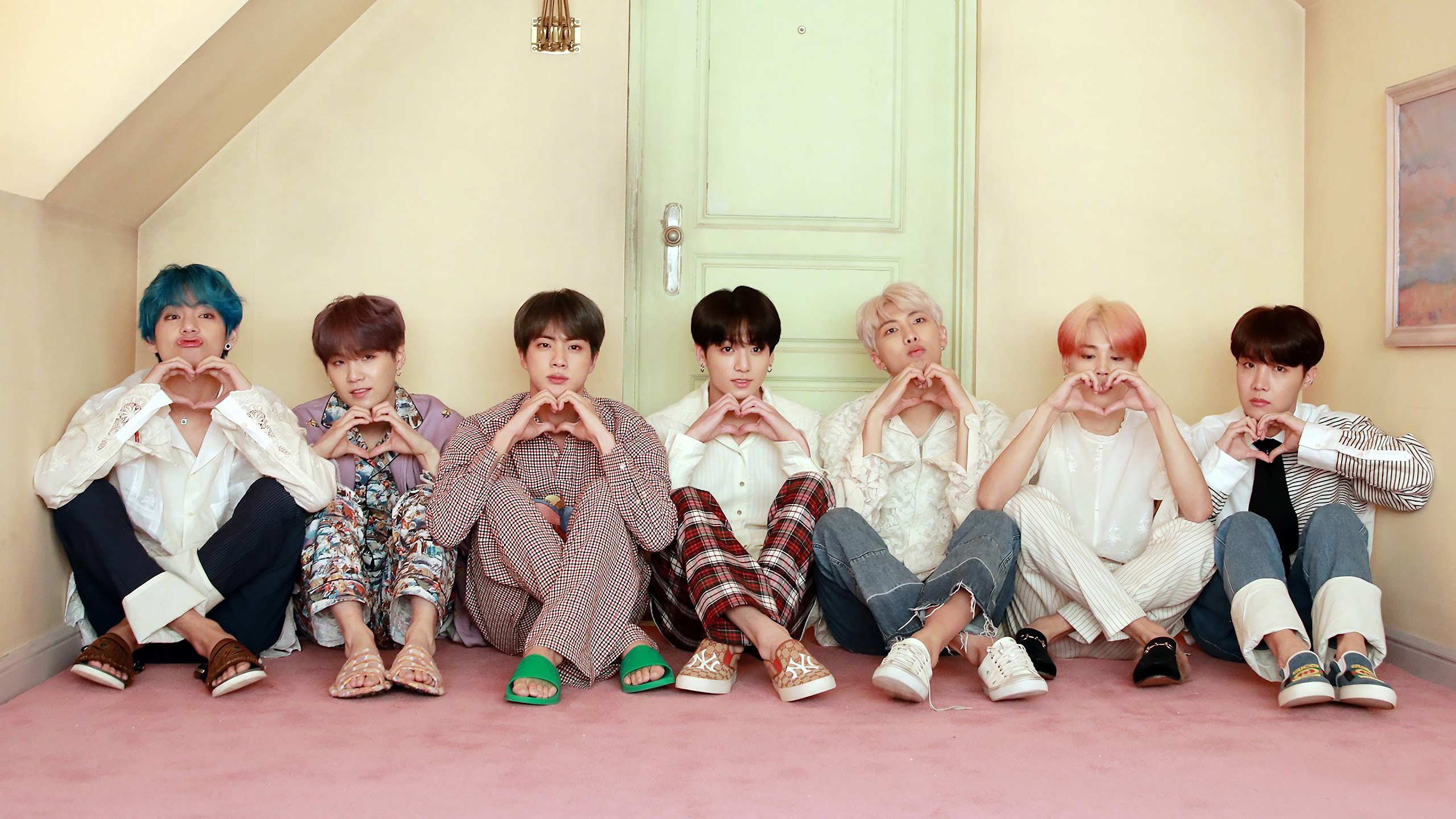 BTS Map of the Soul Persona 4K Wallpaper 75 2560x1440