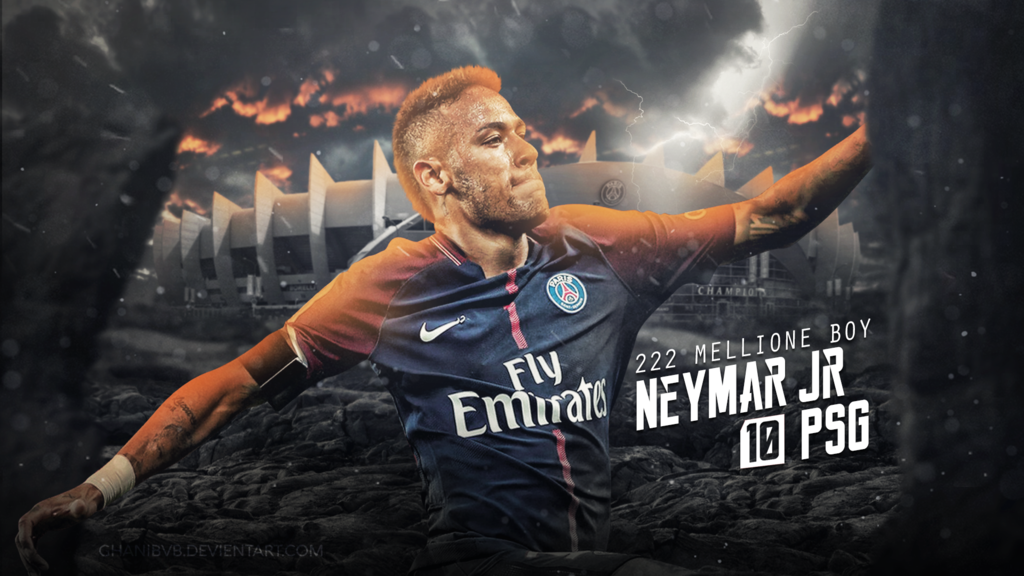 Neymar Jr Wallpaper PSG 201718 by Ghanibvb 1024x576