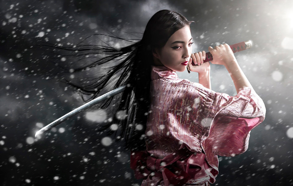 samurai girl wallpaper fantasy wallpapers 11660 samurai girl Car 596x380
