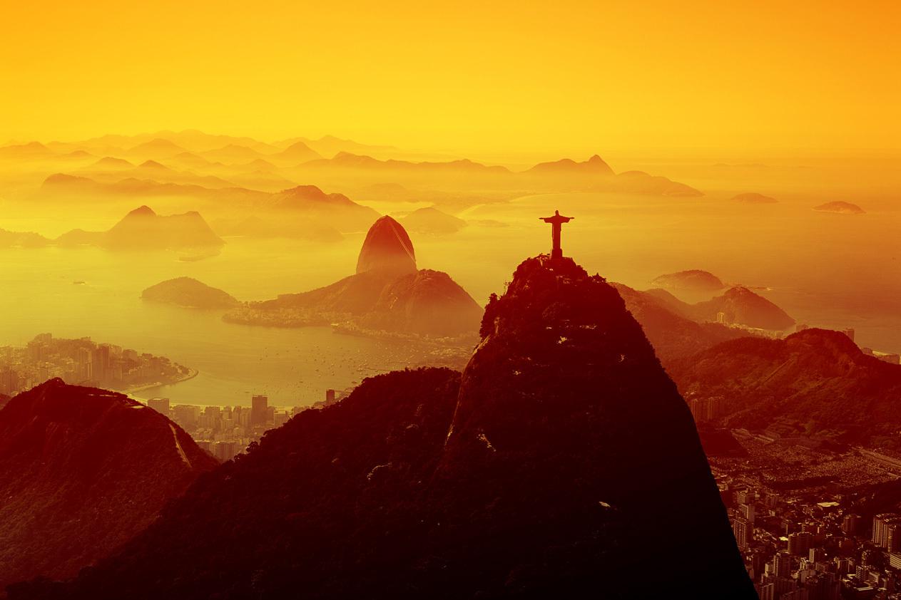 Sunset Rio De Janeiro Wallpaper Full HD Pictures 1263x842