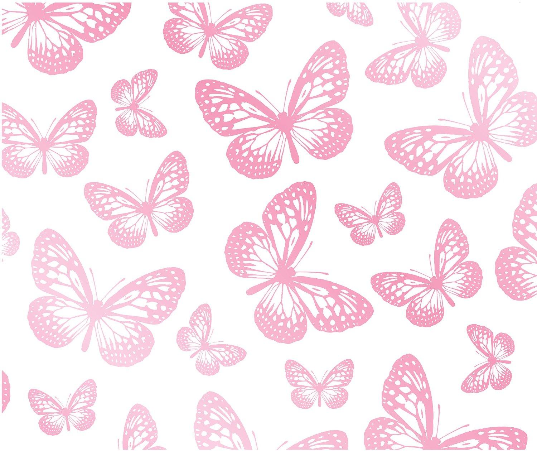 9013 pink butterflies wallpaper 1500x1259