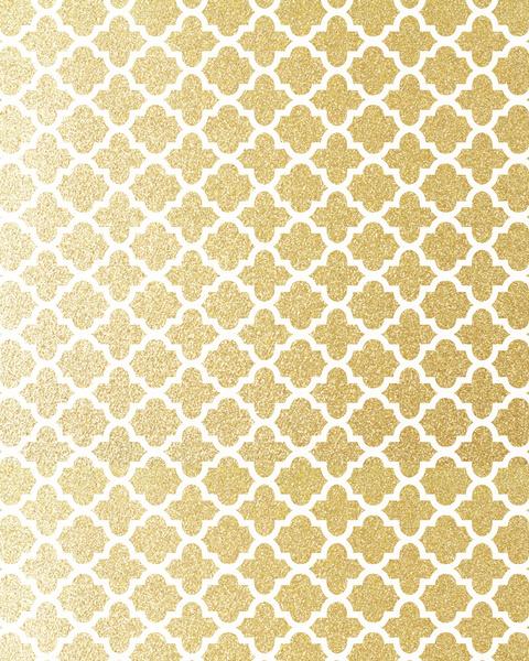 Gold Glitter Iphone Wallpaper Gold glitter quatrefoil art 480x600