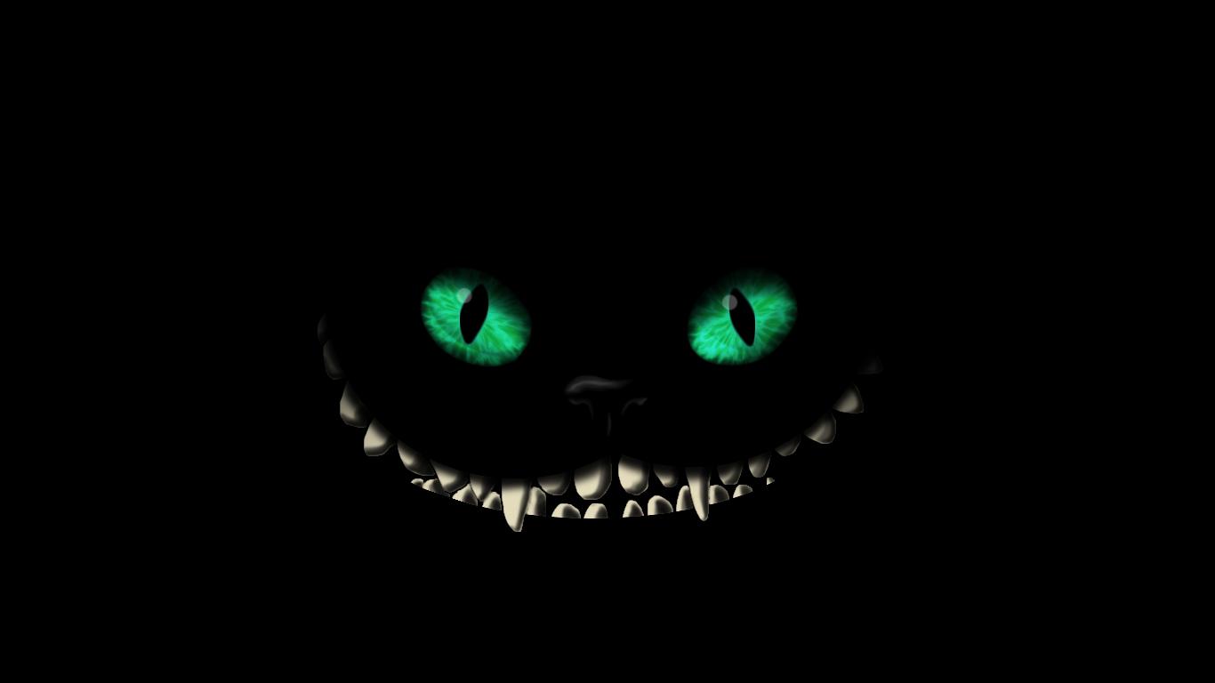 Cheshire Cat by touchko 1366x768