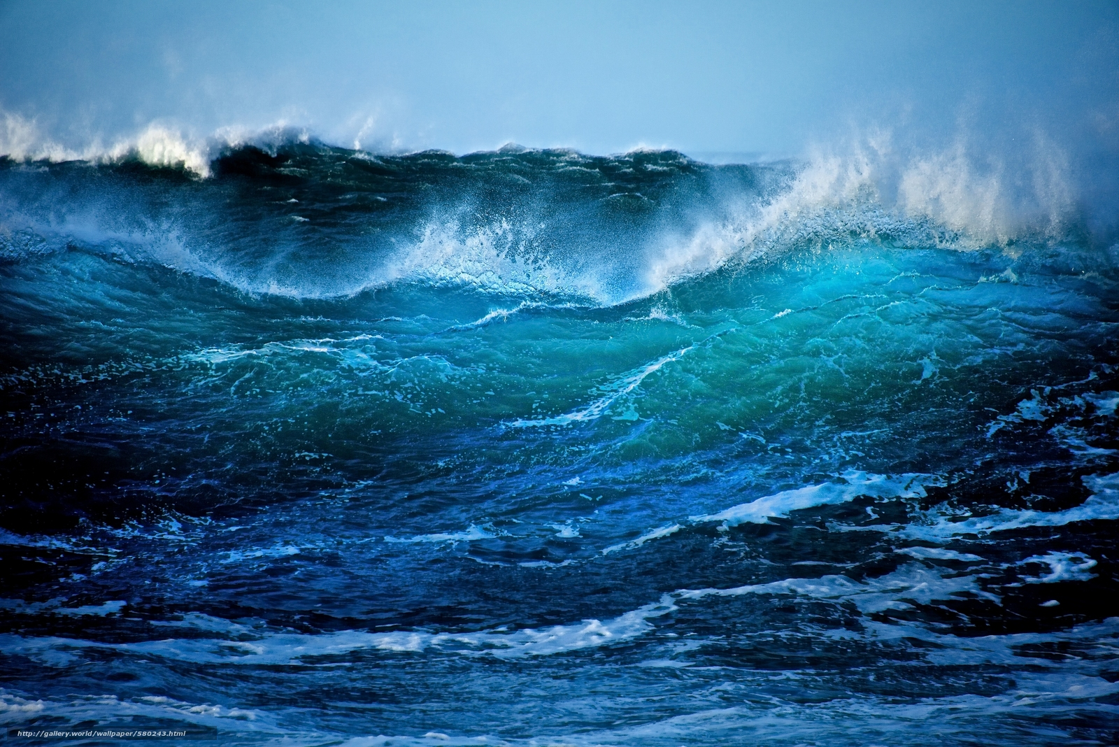 Download wallpaper Northern Ireland Antrim ocean 1600x1068