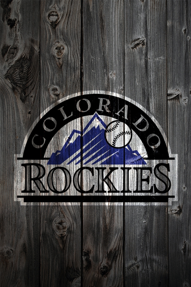 Colorado Rockies MLB   Download iPhoneiPod TouchAndroid Wallpapers 640x960
